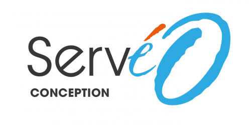 logo servéo conception