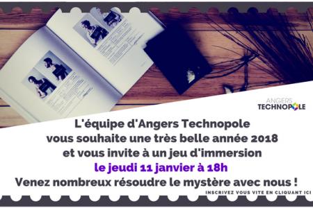 Mystère à Angers Technopole