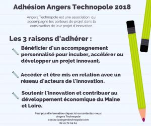 Adhésion Angers Technopole 2018